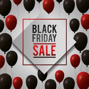 Zwarte vrijdag winkelen verkoop
