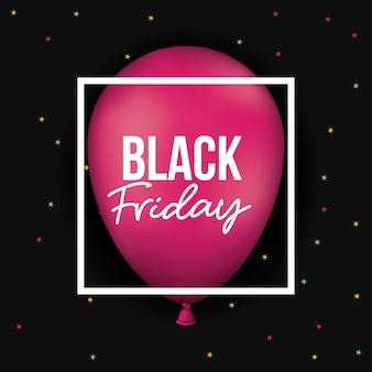Zwarte vrijdagaffiche