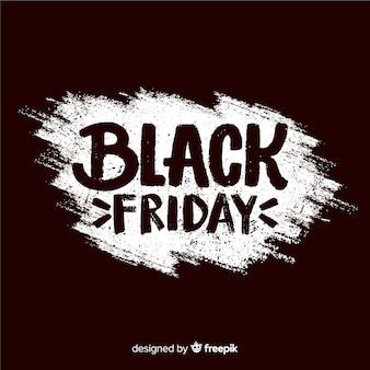 Zwarte vrijdagbanner