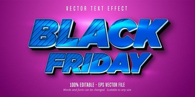 Zwarte vrijdagtekst, bewerkbaar teksteffect