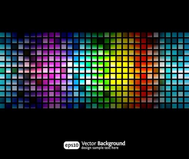Zwarte zakelijke abstracte achtergrond met kleurovergangen. modern