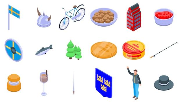 Zweden pictogrammen instellen