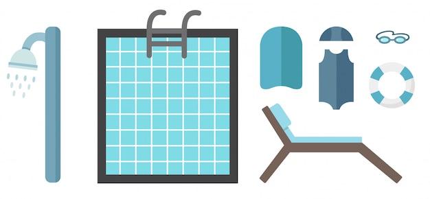 Zwembad en toebehoren