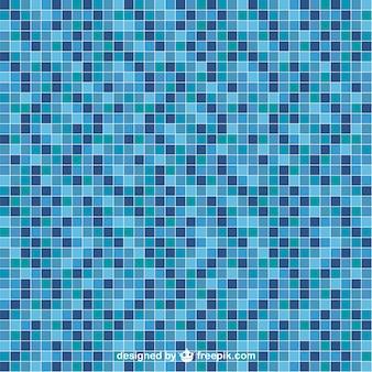 Zwembad tegel vector naadloze patroon
